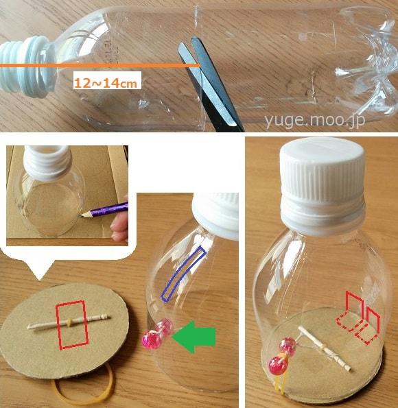 ペットボトル貯金箱の作り方基本