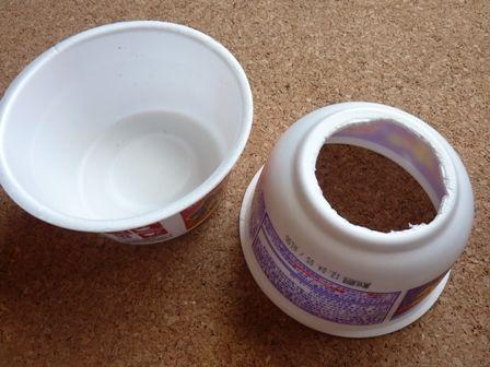 カップ麺2つでプラネタリウム工作を作る