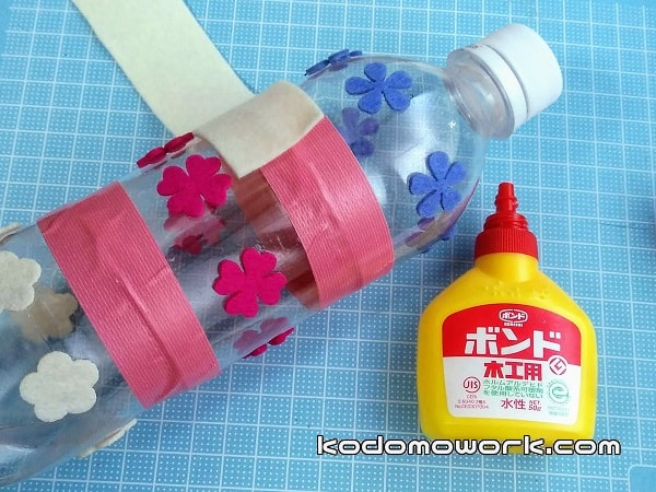 簡単ペットボトル手作りおもちゃは中学生の幼児保育宿題にも