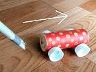 磁石おもちゃ手作り車